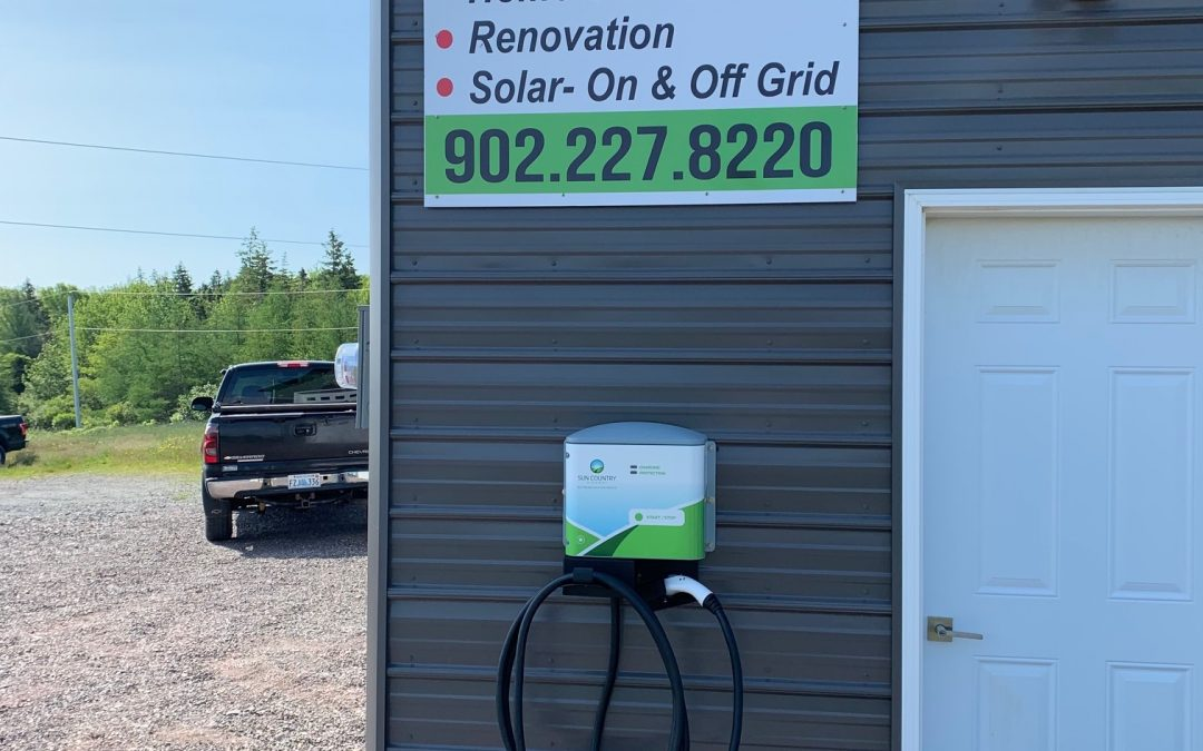 EV Charging Station at Appleseed Energy Warehouse