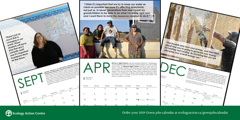 Appleseed Energy featured in Green Jobs Calendar
